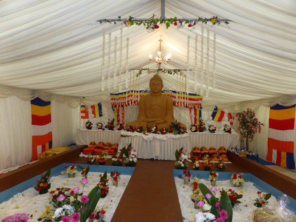 Sri Sambodhi Buddhist Meditation Centre - Katina Ceremony